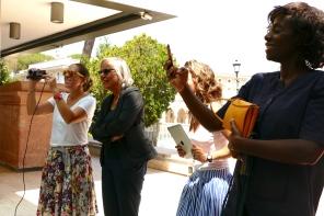 Malvina Diletti, Emanuela Piovano, Valentina Marone, Jeane Kolingba Léger