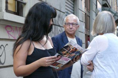 Mariam Ferjani, Domenico Dinoia