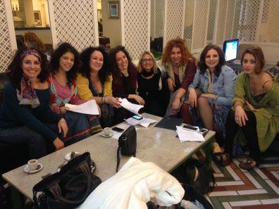 Donatella Salviola, Valentina Piccolo, Bruna Galanto, Francesca Danese, Rossella Chiovetta, Isabella Careccia, Antonella Bruni