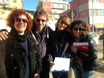 Carmela Rutigliano, Sergio Cosulich, Rosalba Ambrico, Francesca Romana Massaro