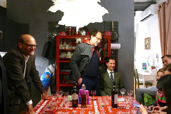Mario Mazzantini, Francesco Martinotti, Dragoslav Zachariev