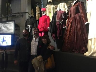 Lia Morandini costumi Caravaggio di Angelo Longoni