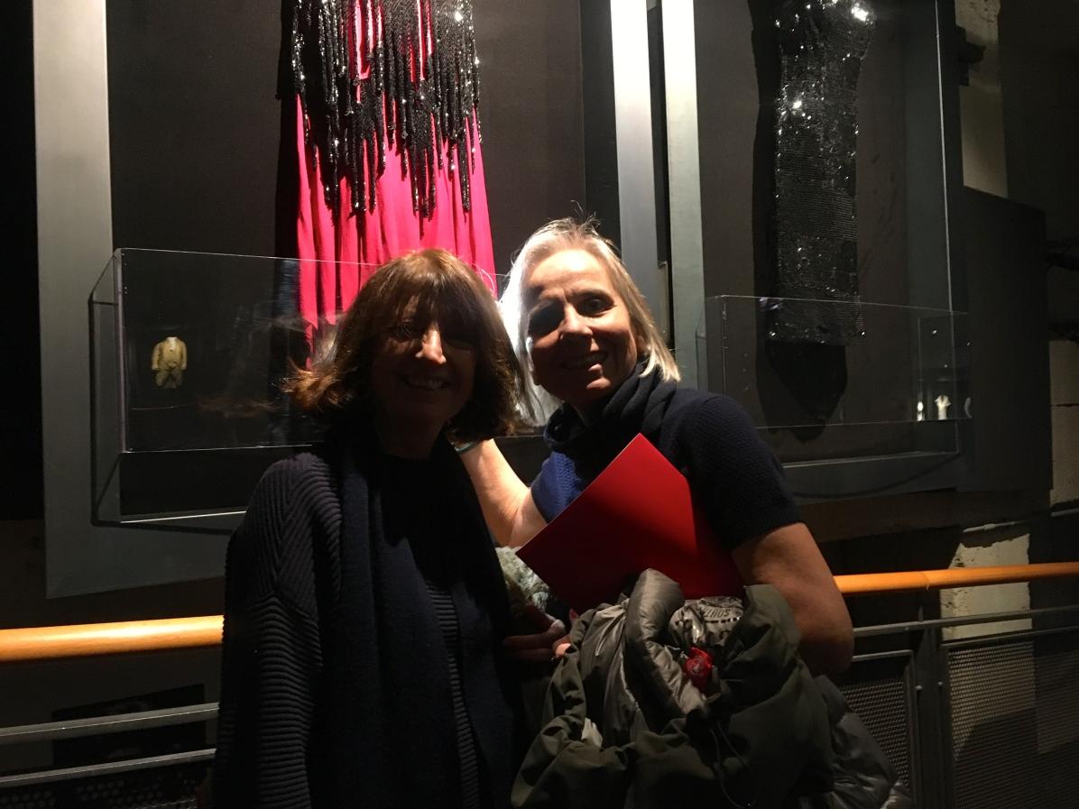Lia Morandini, Emanuela Piovano vestito di Charlotte Rampling Portiere di Notte di Liliana Cavani